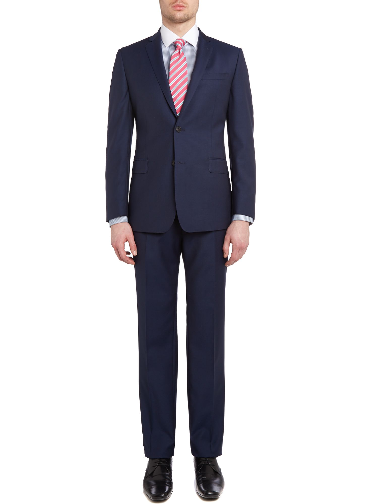 Contemporary wool mohair suit