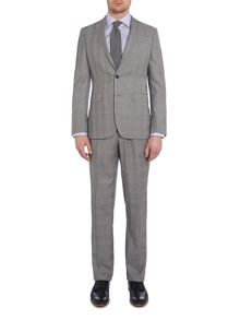 Richard James Mayfair Contemporary prince of wales check suit