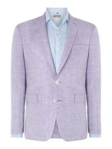 Richard James Mayfair Contemporary chambray linen jacket