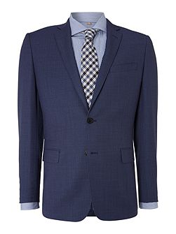 Birdseye Notch Collar Slim Fit Suit