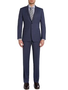 Richard James Mayfair Birdseye Notch Collar Slim Fit Suit