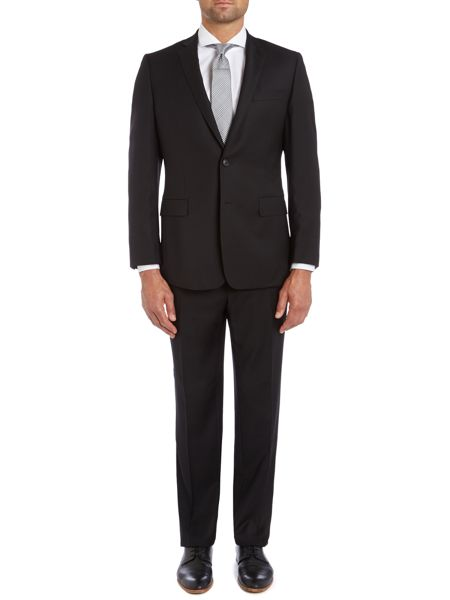 Richard James Mayfair Hopsack contemporary suit jacket