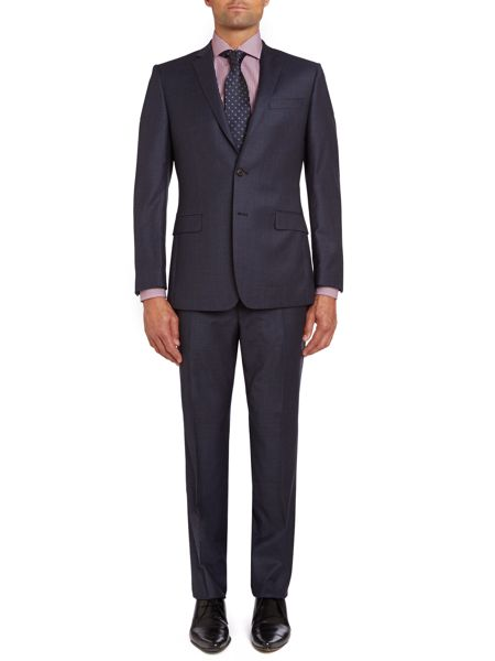 Richard James Mayfair Check contemporary suit jacket