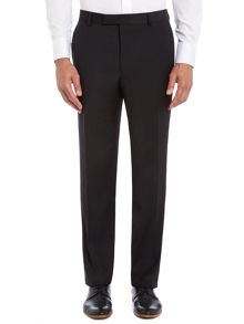 Hopsack contemporary suit trouser