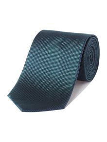 Semi plain textured silk tie