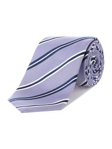Richard James Mayfair Contrast Stripe Tie