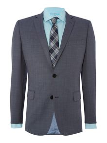 Plain Slim Fit Suit Jacket