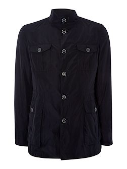 Casual Button Field Jacket