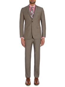 Contemporary Wool/Mohair SB1 FF Suit