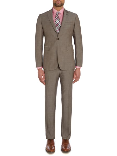 Richard James Mayfair Contemporary Wool/Mohair SB1 FF Suit