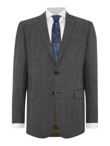 Contemporary Large Check Suit Jacket