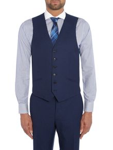 Richard James Mayfair Contemp Flannel Peak Waistcoat