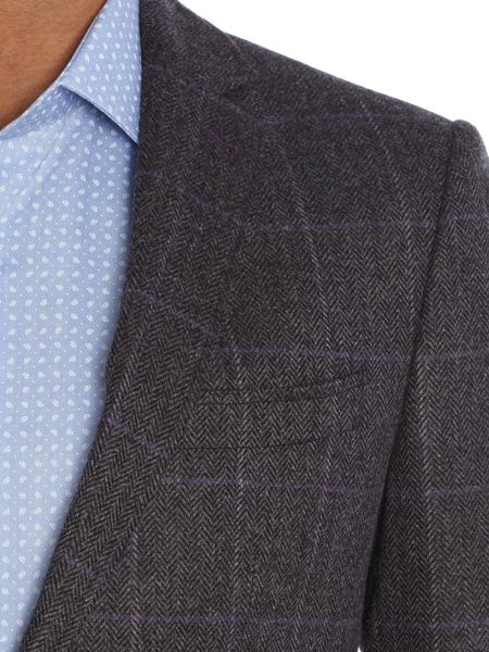 Richard James Mayfair Herringbone Check Jacket
