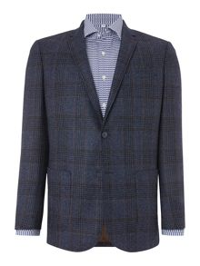 Richard James Mayfair Blue Check Jacket
