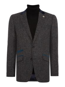 Simon Carter Herringbone Fleck Jacket