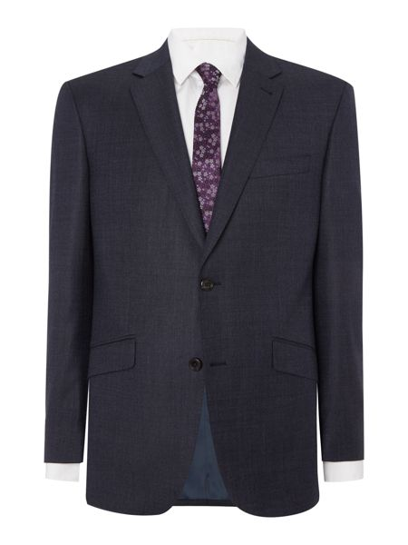 Simon Carter Navy Semi Plain Jacket