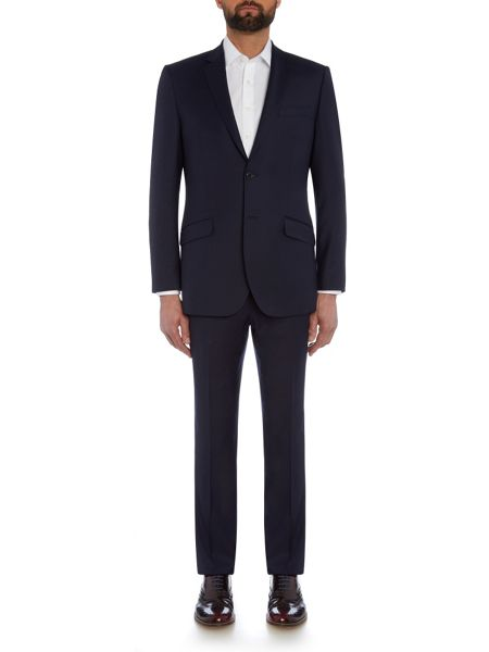 Simon Carter Tailored Twill Single Breasted Jacket
