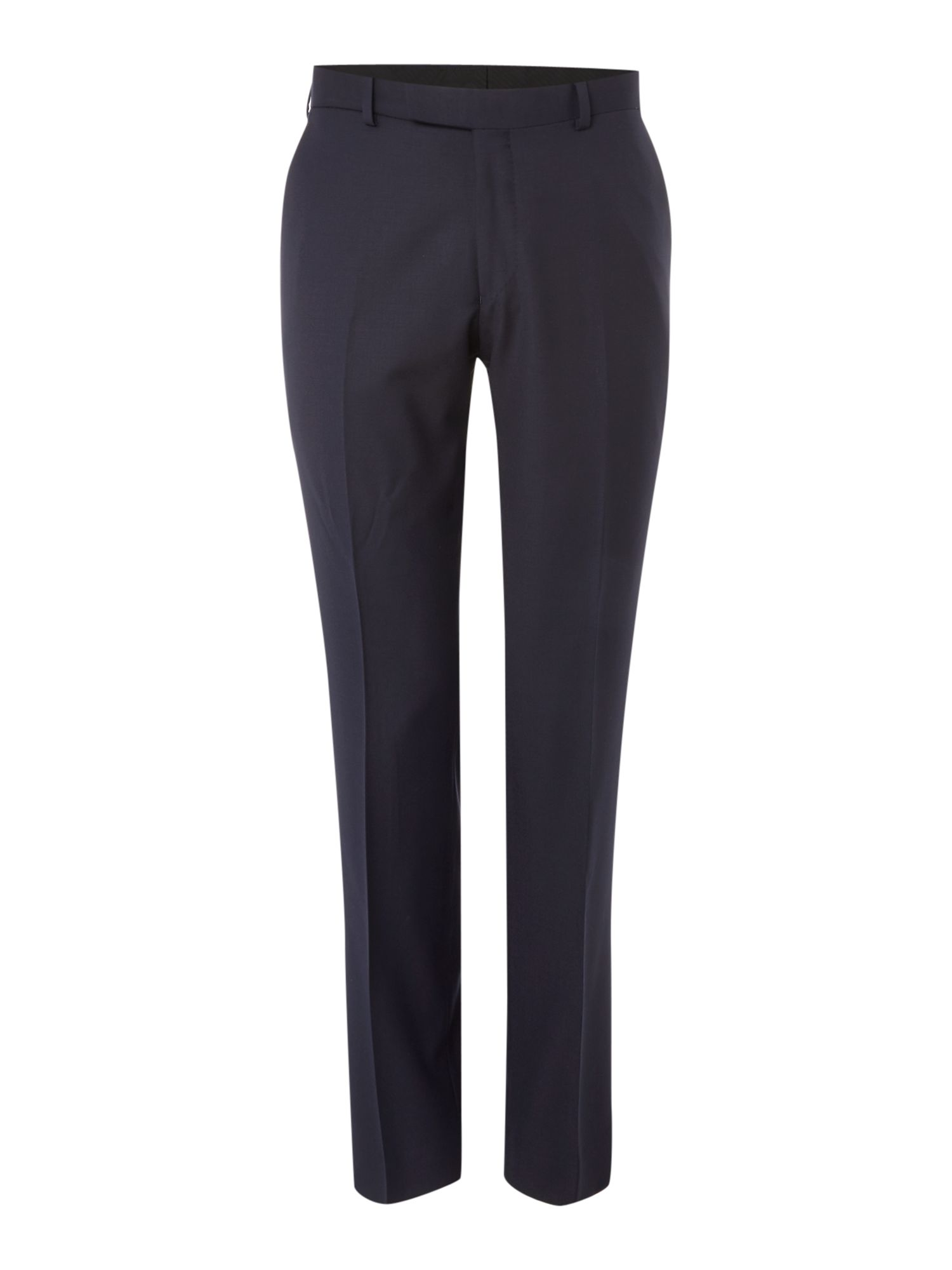 Men's Simon Carter Tailored Twill Flat Front Trouser, Navy