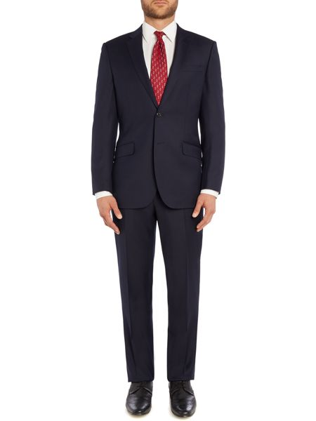 Simon Carter Tailored Twill Flat Front Trouser