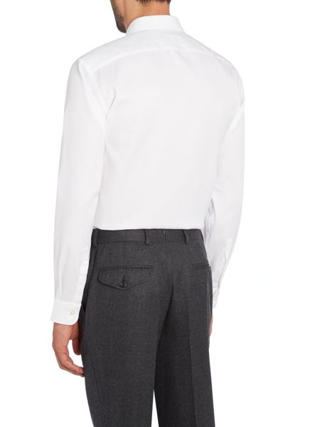 Chester Barrie LS Piccadilly Semi Plain Shirt SC