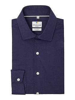 Ls Sc Navy Stretch Shirt