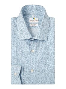 Richard James Mayfair Ls Sc Ditsy Floral Shirt
