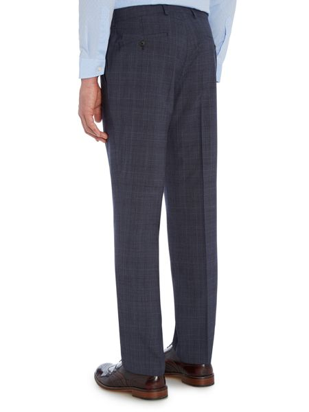 Richard James Mayfair Mouline Check Ff Trousers