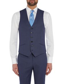 Richard James Mayfair Birdseye Sb6 Waistcoat