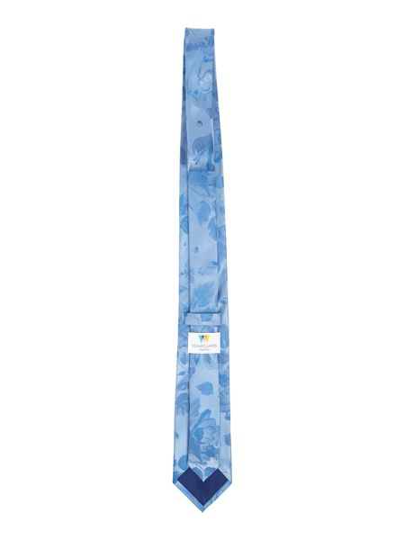 Richard James Mayfair Photorose Jacquard Flower Tie