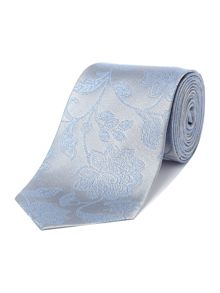 Richard James Mayfair Light Blue Paisley Flower Tie