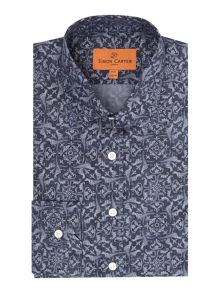 Simon Carter Bird Swirl Shirt