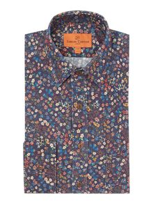 Simon Carter Flower Fruit Liberty Shirt
