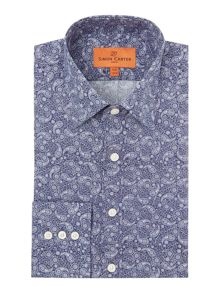 Simon Carter House Paisley Print Shirt