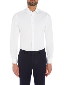 Richard James Mayfair White On White Printed Triangle Shirt