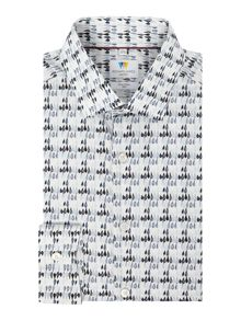 Richard James Mayfair Droplet Print Shirt