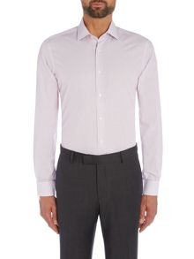 Richard James Mayfair Red Hairline Stripe Shirt