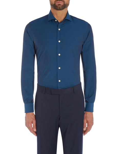 Richard James Mayfair Teal Tonic Shirt