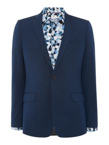 Richard James Mayfair Teal Two Tone Mohair Suit Jacket