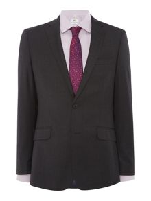 Richard James Mayfair Charcoal Pic N Pic Suit Jacket