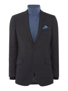 Richard James Mayfair Charcoal Wide Check Suit