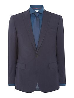 Navy Fine Stripe Suit
