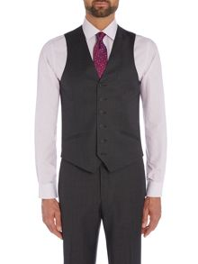 Richard James Mayfair Charcoal Pic N Pic Waistcoat
