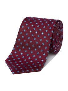 Richard James Mayfair Herringbone Daisy Tie