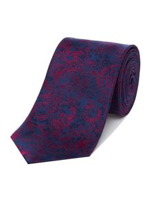 Richard James Mayfair Sketch Roses Silk Tie