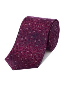 Richard James Mayfair Pink Bubbles Silk Tie