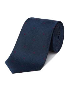 Richard James Mayfair Crystal Dot Silk Tie