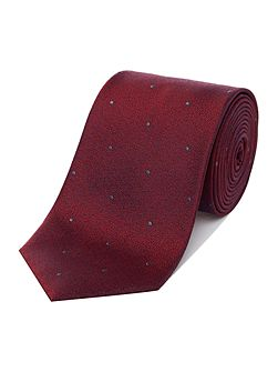 Crystal Dot Silk Tie