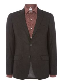 Richard James Mayfair Mens Window Pane Slim Fit Wool Jacket