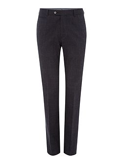 Mens Brushed Cotton Check Slim Trouser