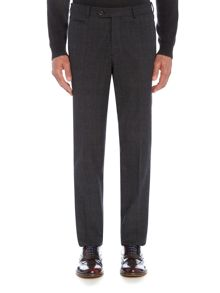 Richard James Mayfair Mens Brushed Cotton Check Slim Trouser